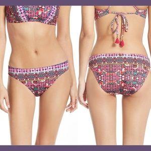NEW Nanette Lepore Sunset Charmer Bikini Bottom S